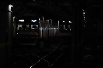 2018年11月11日 13時32分、小竹向原、トンネル内に止まる04K運用の東急5050系。