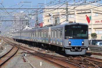 2018年11月10日 9時48分ころ、新所沢、2番ホームへ到着する20155Fの上り回送列車。