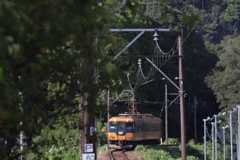 2018年9月9日 15時11分ころ、川根温泉笹間渡~抜里、16002ほか2連の金谷ゆき。