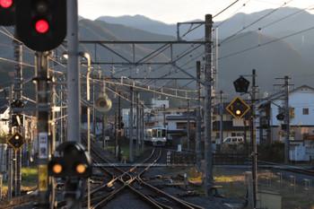 2018年12月9日、西武秩父、三峰口から到着する4003Fの急行 池袋ゆき(S6列車)。