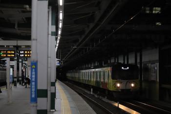 2018年12月16日 6時12分ころ、練馬、20158Fの上り回送列車。