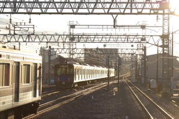 2019年1月1日 7時33分ころ、小手指、発車した20151Fの上り回送列車。