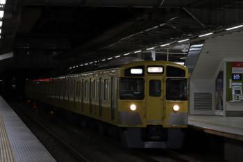 2018年12月29日 5時30分ころ、所沢、2051Fの上り回送列車。