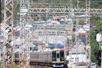 2018年10月6日 14時57分ころ、枚岡~額田、阪神9000系の快速急行  神戸三宮ゆき。