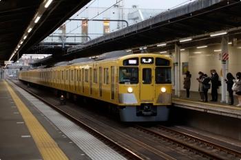2021年1月18日。武蔵藤沢。2071F+2463Fの1102レ。