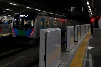 2021年1月18日。所沢。発車した、40101FのS-TRAIN102号・豊洲ゆきの502レ。