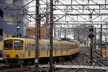 2021年1月24日 14時56分頃。所沢。6番線から発車した1245F+263Fの下り回送列車。