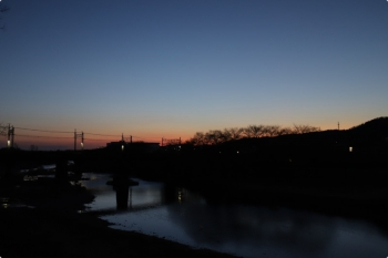 2021年2月11日 6時1分頃。仏子〜元加治駅間。
