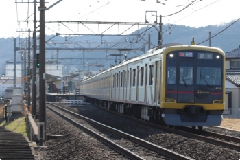 2021年2月11日。元加治。東急4110Fの54K運用・1701レ。