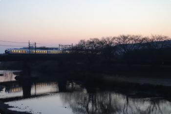 2021年2月14日。仏子〜元加治駅間。001系・Laviewの下り回送列車。