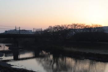 2021年2月14日。仏子〜元加治駅間。6000系の6551レ。