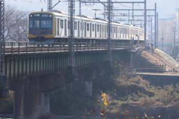 2021年2月21日。仏子〜元加治駅間。東急4110Fの4701レ。