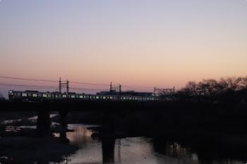 2021年2月22日。仏子〜元加治駅間。30000系の3106レ。