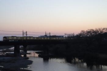 2021年2月22日。仏子〜元加治駅間。N2000系の5107レ。