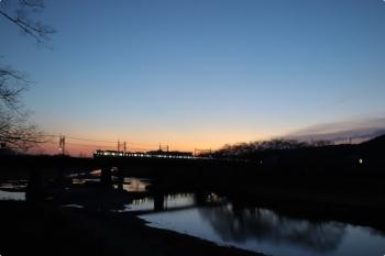 2021年2月23日。仏子〜元加治駅間。30000系2+8連の2106レ。