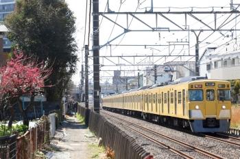 2021年2月28日。東村山〜所沢駅間。2409F+2083Fの2637レ。