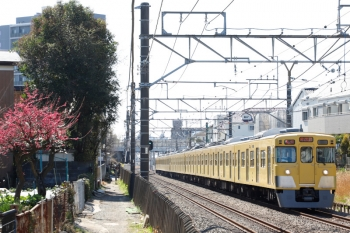 2021年2月28日。東村山〜所沢駅間。2019F+2525Fの2807レ。