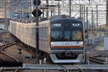 2021年3月4日。所沢。メトロ10001Fが代走の18M運用・6558レ。
