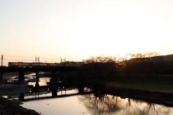 2021年3月17日。仏子〜元加治駅間。2063Fの5107レ。