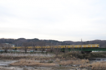 2021年3月19日。仏子〜元加治駅間。N2000系2+8連の4101レ。
