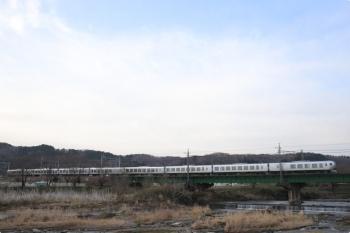 2021年3月19日。仏子〜元加治駅間。001系の10レ。