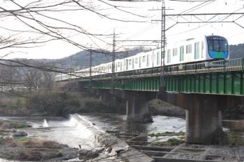 2021年3月19日。仏子〜元加治駅間。40153Fの1102レ。