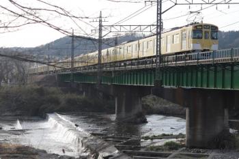 2021年3月19日。仏子〜元加治駅間。2461F+2075Fの2506レ。