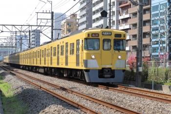 2021年3月26日。高田馬場〜下落合駅間。2007F+2459Fの