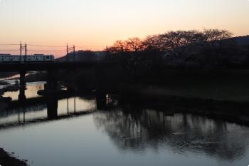 2021年3月26日。仏子〜元加治駅間。40000系の3104レ。