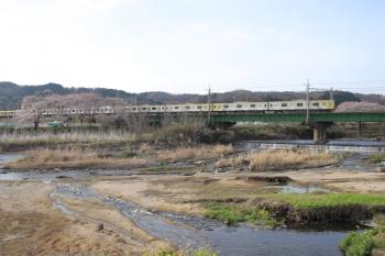 2021年3月27日。仏子〜元加治駅間。東急4110Fの3702レ。