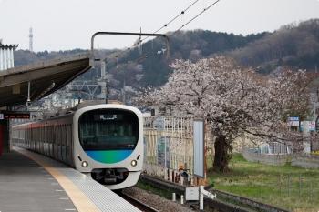 2021年3月27日 16時46分頃。元加治。38112Fの下り回送列車。