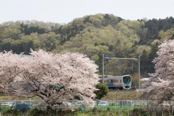 2021年3月31日。仏子〜元加治駅間。30103Fの2137レ。