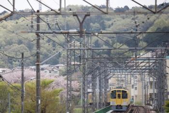 2021年4月3日。仏子〜元加治駅間。2465F+2069Fの5022レ。