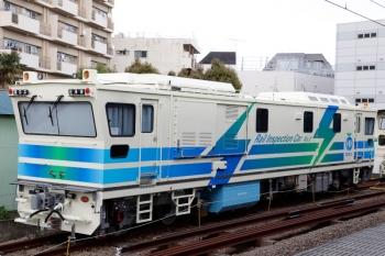 2021年4月3日。東長崎。「Rail Inspection Car No.3」。