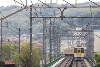 2021年4月4日。仏子〜元加治駅間。2465F+2069Fの4115レ。
