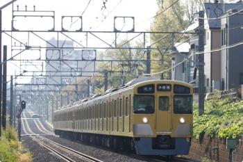 2021年4月12日。武蔵関〜東伏見。2511F+2525Fの多摩湖ゆき各停 5501レ。