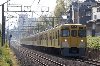 2021年4月12日。武蔵関〜東伏見。2007F+2413Fの5107レ。