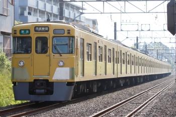 2021年4月12日。武蔵関〜東伏見。2007F+2413Fの田無始発 4102レ。