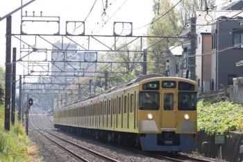 2021年4月12日。武蔵関〜東伏見。2059F+2419Fの4303レ。