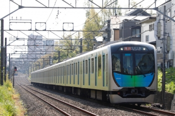 2021年4月12日。武蔵関〜東伏見。40103Fの2251レ。