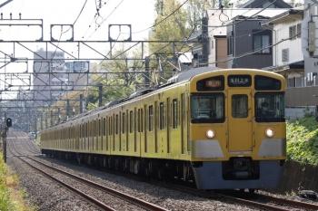 2021年4月12日。武蔵関〜東伏見。2515F+2051Fの2253レ。