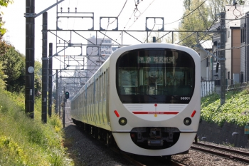 2021年4月12日。武蔵関〜東伏見。38101Fの4312レ。