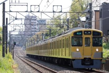 2021年4月12日。武蔵関〜東伏見。2537F+2049Fの4101レ。
