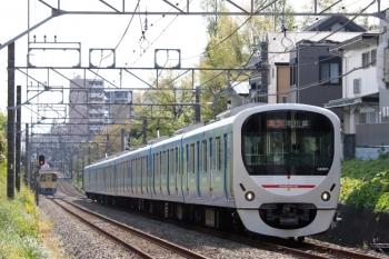 2021年4月12日。武蔵関〜東伏見。38101F(ドラえもん)の2625レ。