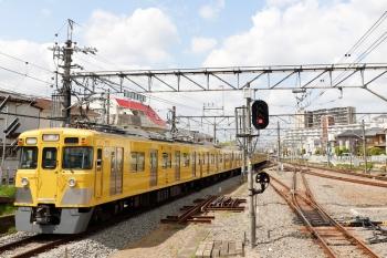 2021年4月12日 10時27分頃。田無。2403F+2083Fの下り回送列車。