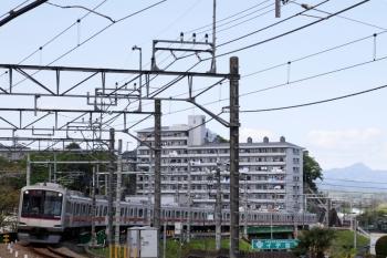 2021年4月18日。入間市〜仏子駅間。東急4102Fの1704レ。