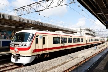 2021年5月2日 8時57分。西所沢。発車した10105Fの西武球場前ゆき臨時特急列車。