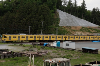 2021年5月9日。横瀬。廃車となった2003F。