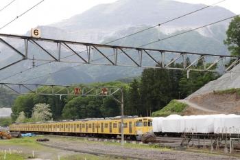 2021年5月9日。横瀬。廃車となった2003F。まだ8両揃ってました。