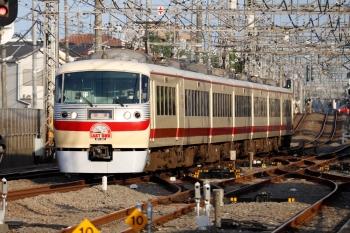 2021年5月15日 17時19分頃。西所沢。LAST RUN 10105Fの下り回送列車。